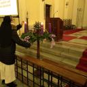 Harmadik adventi gyertya gyújtása